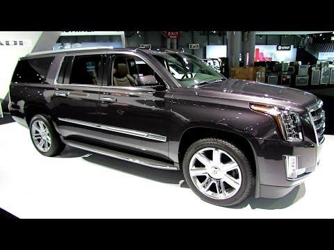 2015 Cadillac Escalade ESV 4WD Premium - Exterior, Interior Walkaround - 2014 ...