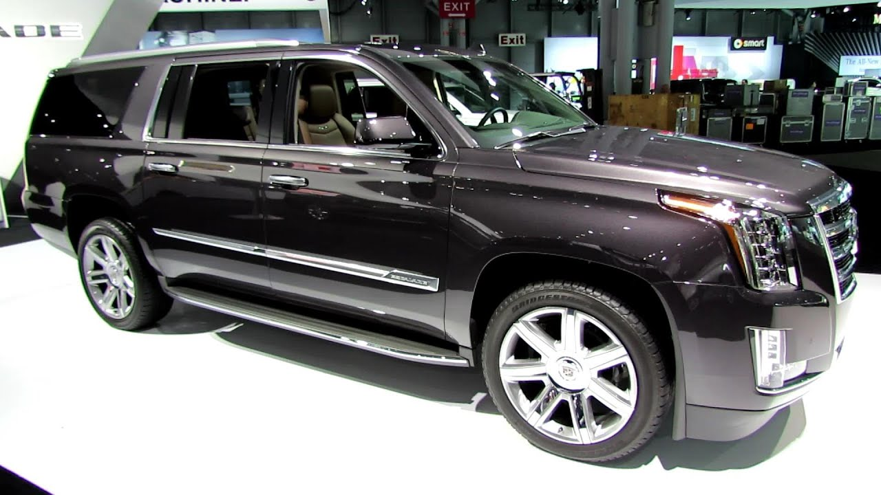 Superb 2015 Cadillac Escalade ESV 4WD Premium   Exterior, Interior Walkaround    2014 New York Auto Show   YouTube