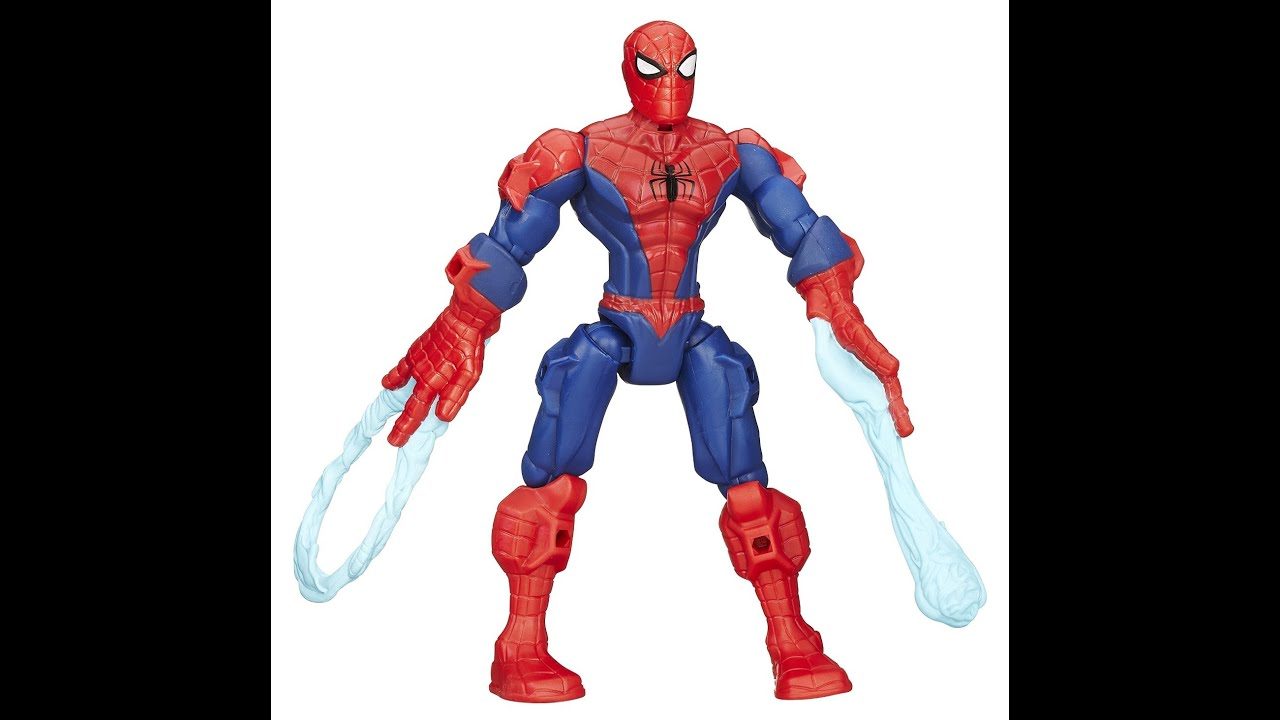 figurine spiderman marvel super hero mashers spider man jouet spiderman pour les enfants youtube