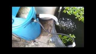 DIY Moving Bed Filter - Tide Machine Without Bell Siphon