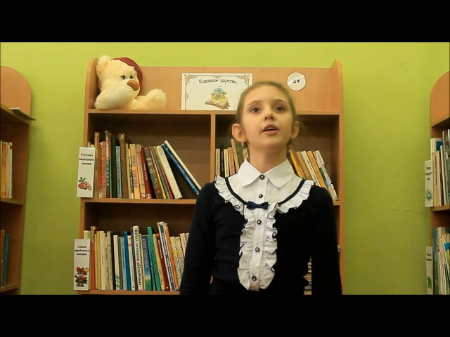 Изображение предпросмотра прочтения – ПолинаФарафонова читает произведение «В театре» А.Л.Барто
