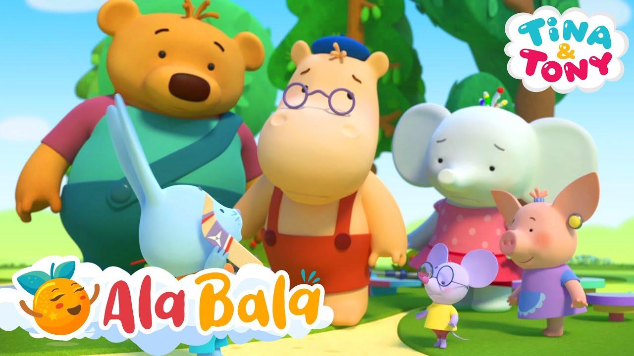 Tina și Tony -  Insula + alte episoade în limba română pentru copii | AlaBala
