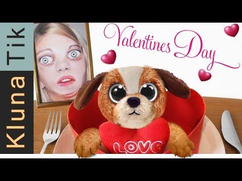 Happy Valentine's Day!!! Kluna Tik Dinner | ASMR eating sounds no talk