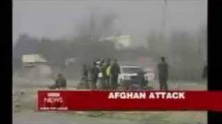 pashtun taliban suicide bombers attempt on prof mojaddedi