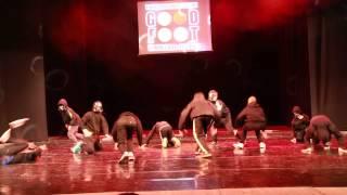 Брейк-данс начинающие Звёздные Воины (отчётный танцевальный концерт