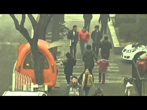 Raw: Heavy Smog Blankets City Streets of Beijing