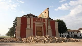 Earthquake in northern Italy damages medieval churches and castles