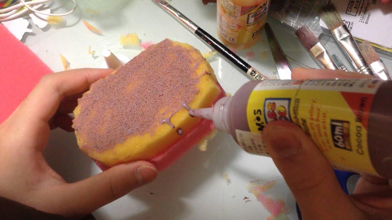 Diy Squishy Cake : Lee chole DIY squishy(cake) - YouTube