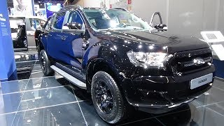 2018 Ford Ranger Black Edition Limited - Exterior and Interior - IAA Frankfurt 2017