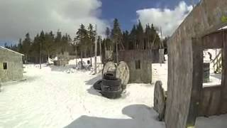 Gopro Paintball: Village, Frontline Action Canada NL