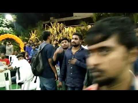 Bowenpally Mantri Sai Yadav Grand Entry at Balamarai Suraj Anna Audio launch Function