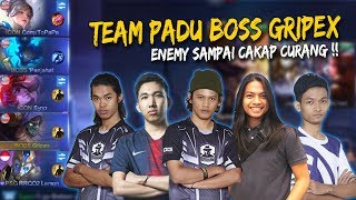 Merinding!! Boss Gripex With Icon & PSG.RRQ Mengganas!! Mobile Legends: Malaysia