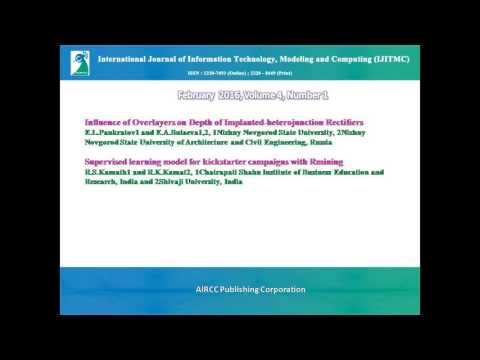 International Journal of Information Technology, Modeling and Computing (IJITMC)