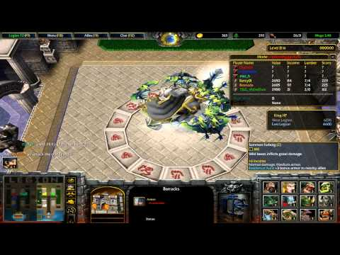 Warcraft 3 Legion TD Mega 3.48(Full match)
