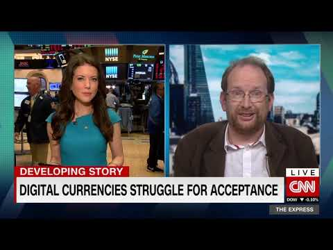 Dr. Windsor Holden Discusses Bitcoin & Cryptocurrencies On CNN's The Express