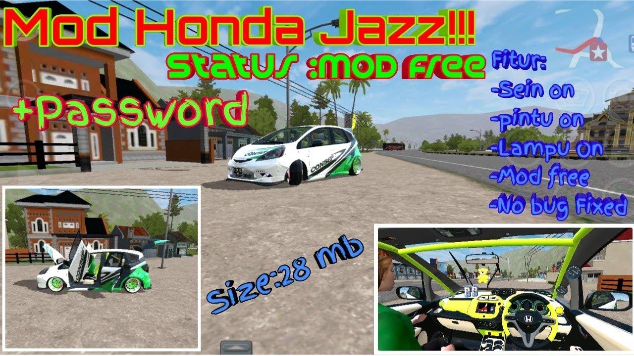 106+ Mod Mobil Honda Jazz Bussid Terbaru