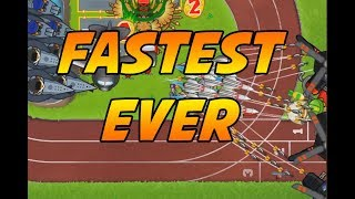 World Record Speedrun - Sprint Track - Bloons TD 5 Impoppable