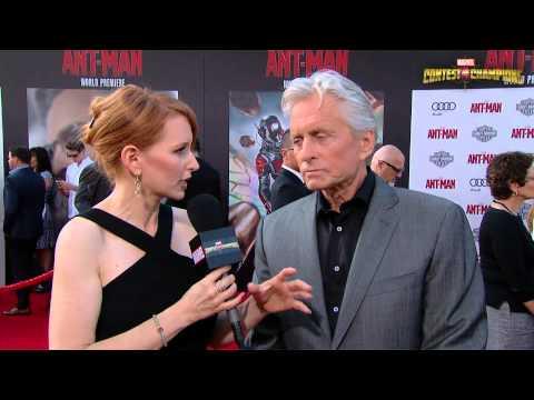 Michael Douglas Discusses Playing Hank Pym