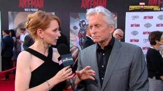 Michael Douglas Discusses Playing Hank Pym