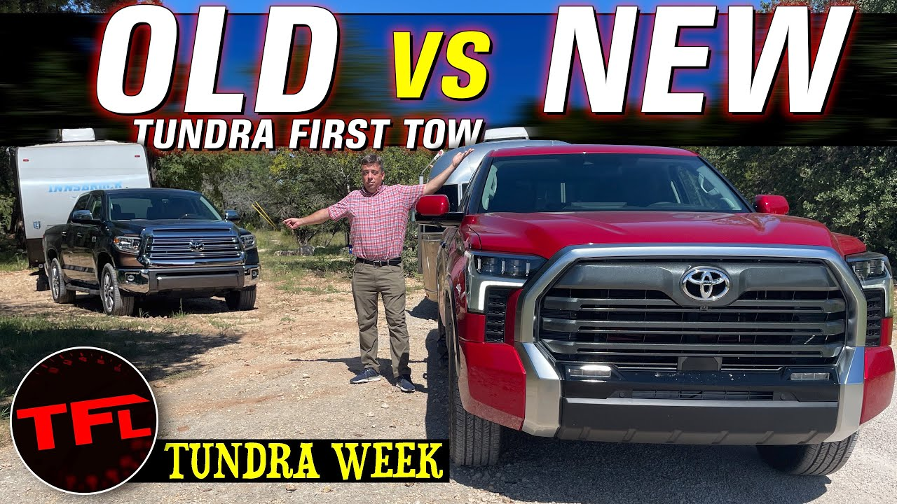Download First Tow - Did Toyota Really Improve the New 2022 Tundra By Replacing The V8 With a V6 Twin Turbo?