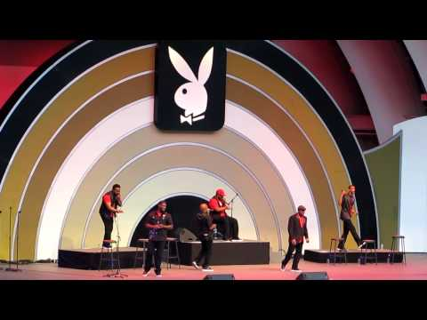 Naturally 7 Acapella group at the Playboy Jazz Festival 4/7