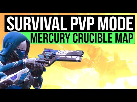 DESTINY 2 NEWS   Survival PvP Mode Reveal, Altar of Flame Mercury Crucible Map & Trials of The Nine?