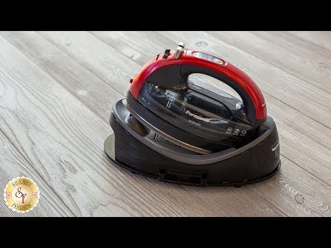 Panasonic 360 Freestyle Cordless Iron | Shabby Fabrics Notions Video