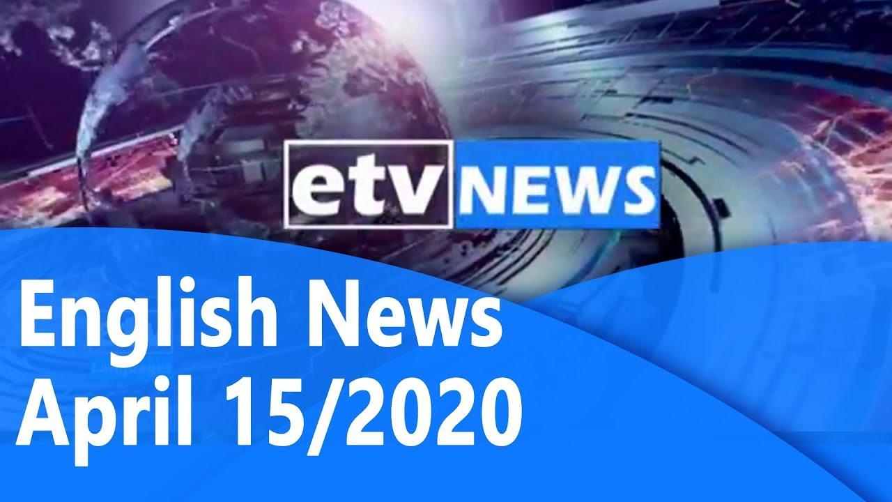 English News April 15/2020