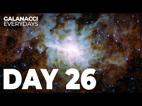 GALANACCI: EVERYDAYS | DAY 26 - SIMULATED NEBULA | DIGITAL ART