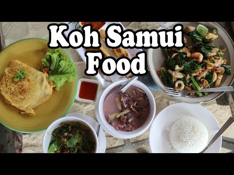 Koh Samui Food: Delicious Local Samui Food At Haad Bang Po Beach Restaurant