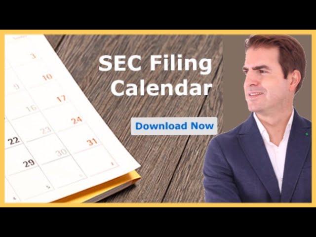 🛑SEC Filing deadlines - ¿Qué pasa si una empresa retrasa la publicación de resultados?