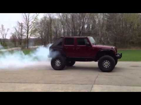 Boring To Badass Jeep Jk Burnout Youtube