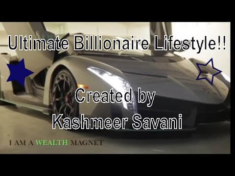 Ultimate Lifestyle of Billionaires: Super Powerful Wealth Vision Board Movie!!