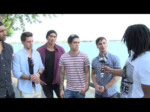 Interview with Australian boy band Justice Crew