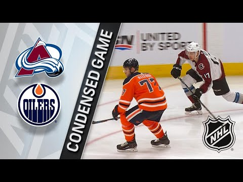 02/22/18 Condensed Game: Avalanche @ Oilers