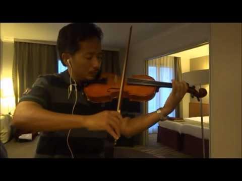 andai aku bisa (chrisye) - piano & violin