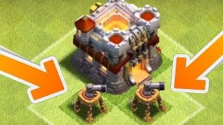 Clash of Clans - NEW AIR SWEEPER REDESIGNED! Texture Change Or Level 7 & Air Sweeper Update?
