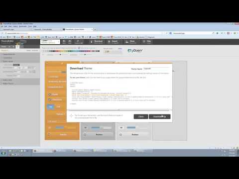 Tutorial 1 | Importing Themes | JQuery Mobile integration with the Ektron CMS
