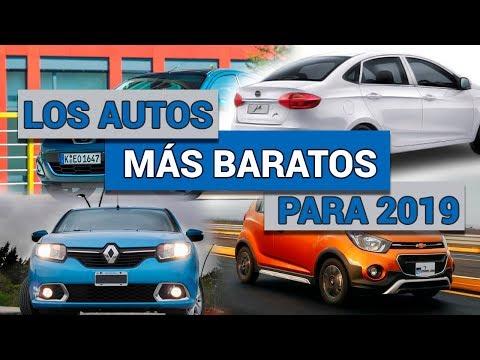 Los Autos Más Baratos Para 2019 | Autocosmos
