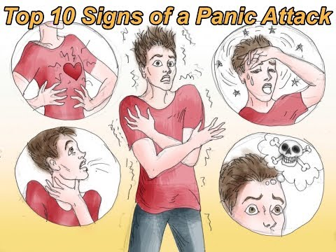 Top 10 Signs of a Panic Attack