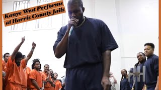 Kanye West Performs At Harris County Jails In Texas
