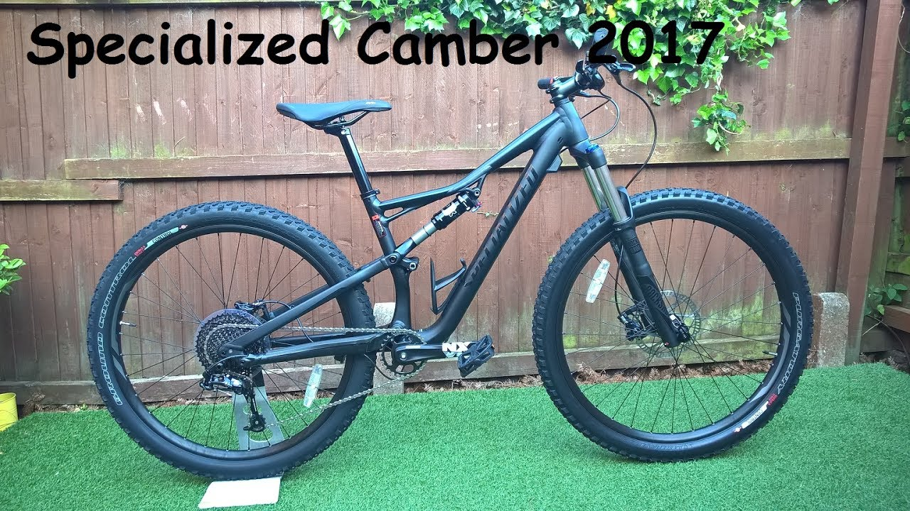 Specialized Camber 2017 Full Suspension Mountain Bike ...