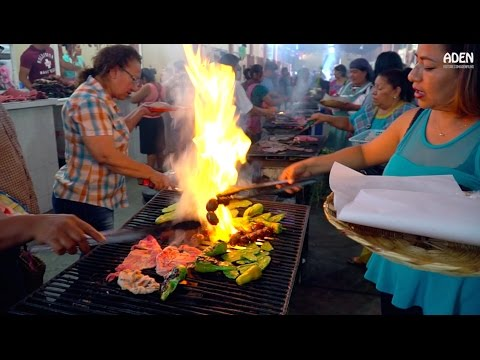 Download Youtube: Mexico - Street Food Market Tlacolula