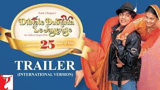 Dilwale Dulhania Le Jayenge   Trailer   Shah Rukh Khan, Kajol   DDLJ International Trailer