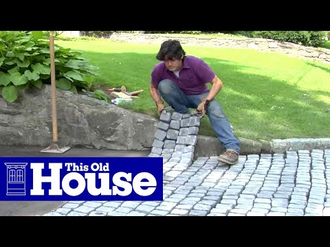 How to Build a Driveway Apron - This Old House