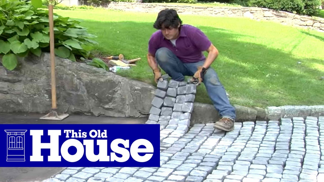 How To Build A Driveway Apron This Old House Youtube