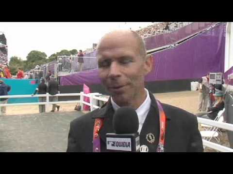 JO 2012 : Interview de Steffen Peters - Equidia Life