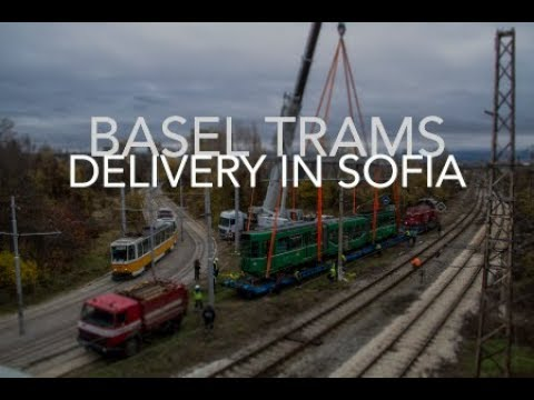 Sofia Trams: Delivery from Basel | 4k Timelapse