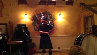 the gael on bagpipes last of the mohicans.MOV