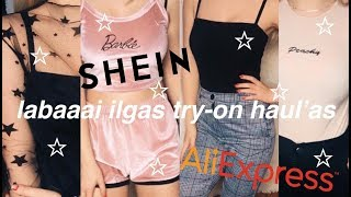 SHEIN & ALIEXPRESS try-on haul